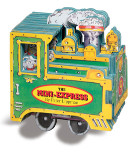 """Express Train"" Mini Wheels Book Series By Peter Lippman"