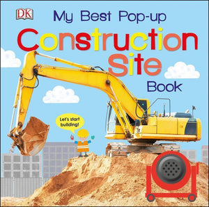 """My Best Pop-up Construction Site Book"" Book By DK"