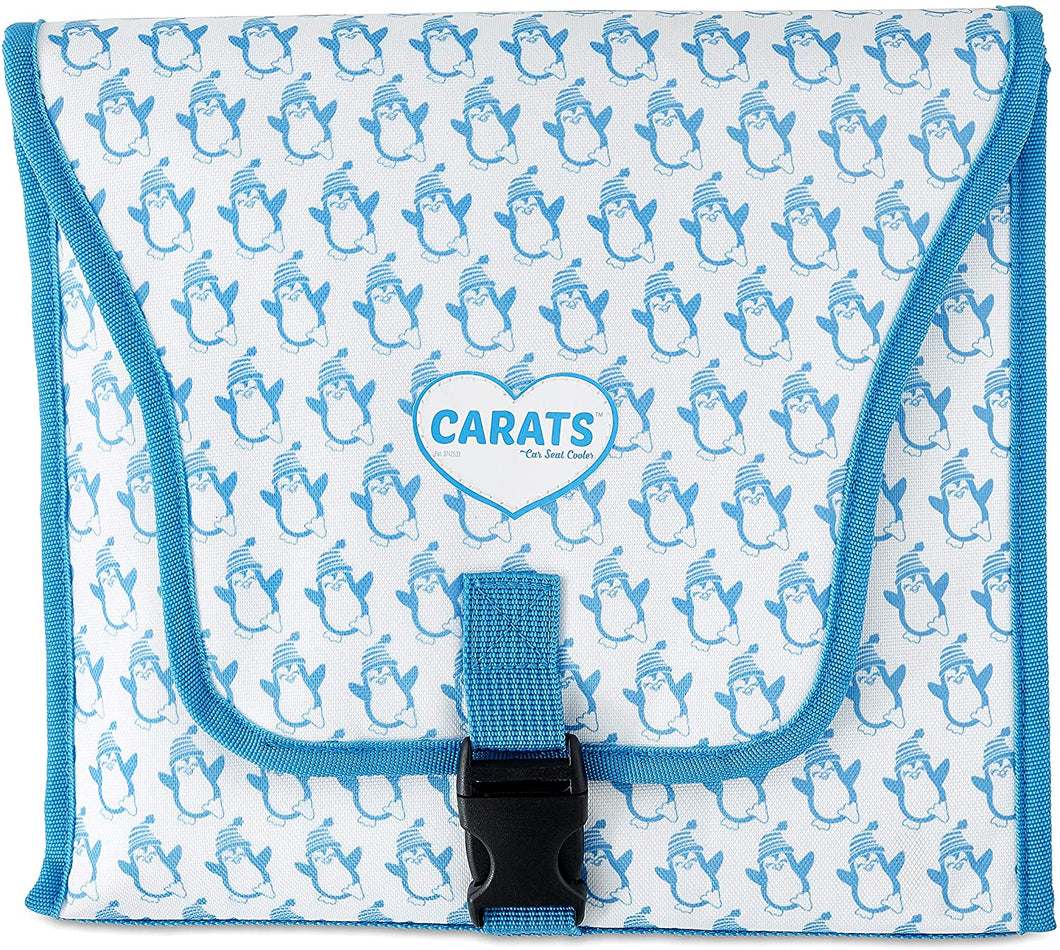 Cool Carats Car Seat Cooler, Blue Penguin