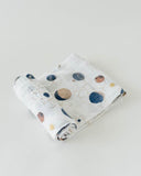 Cotton Muslin Swaddle, Planetary