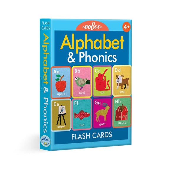 Alphabet and Phonetics Flash Cards
