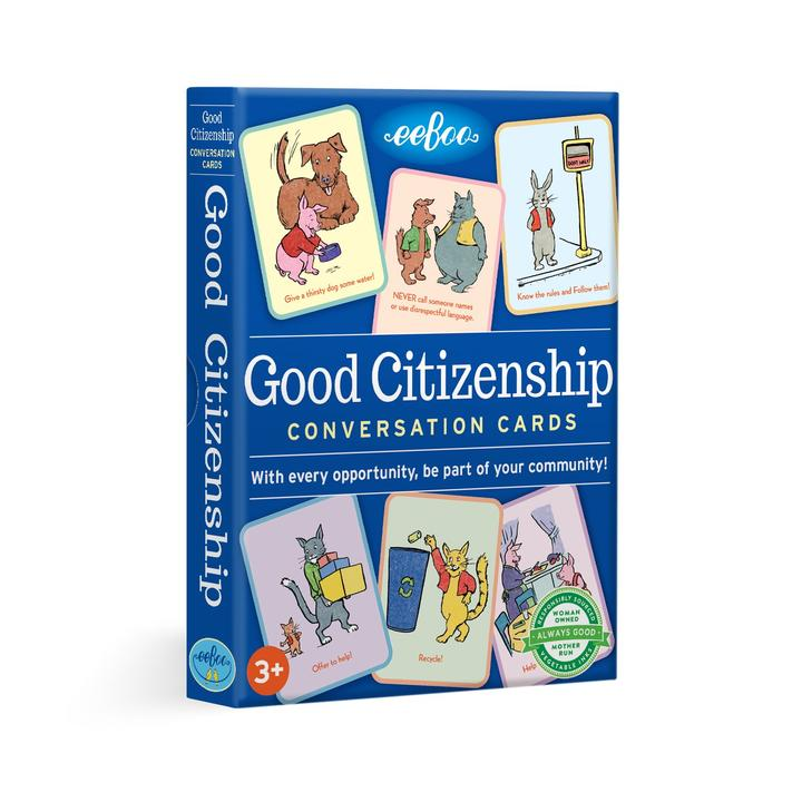 Good Citizenship Conversation Cards