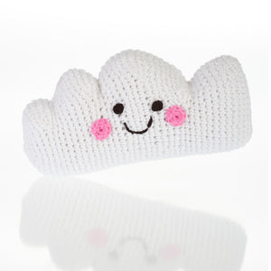 Friendly Cloud Rattle