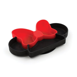 Bumkins Silicone Grip Dish, Minnie Mouse
