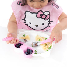 Load image into Gallery viewer, Bumkins Silicone Grip Dish, Hello Kitty