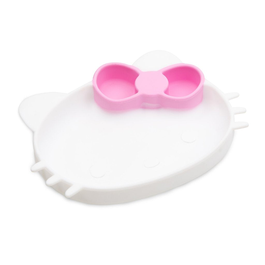 Bumkins Silicone Grip Dish, Hello Kitty