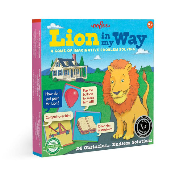 Lion in my Way Learning Game