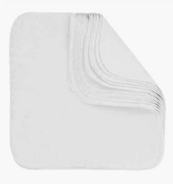 Bumkins USA Made Cotton Flannel Wipes 12 Pack