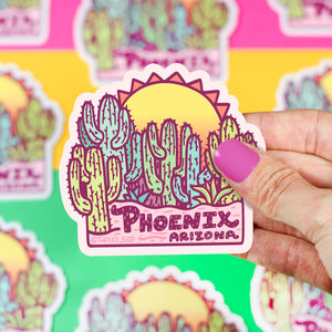 Phoenix Arizona Sunrise Sticker
