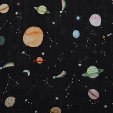 Load image into Gallery viewer, Muslin Swaddle, Planets