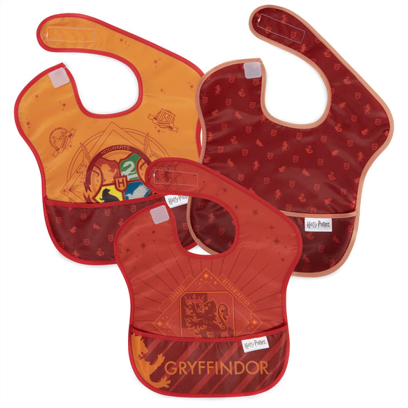 Bumkins SuperBib 3pk, Harry Potter Gryffindor