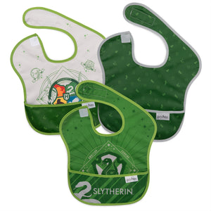 Bumkins SuperBib 3pk, Harry Potter Slytherin
