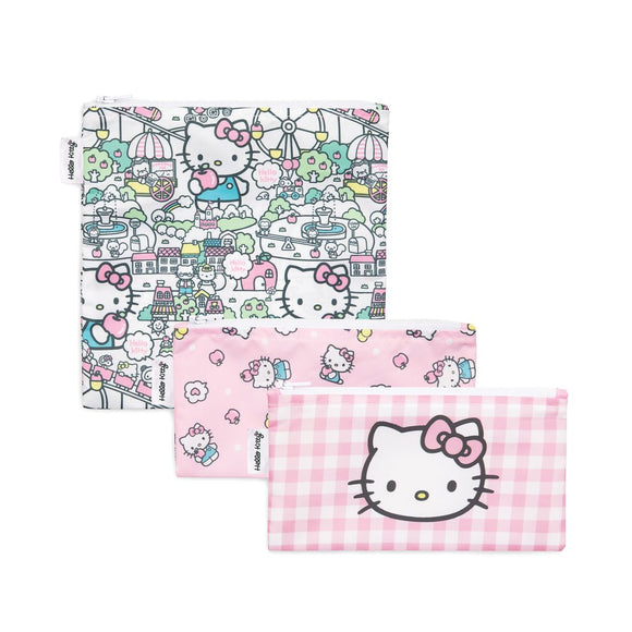 Bumkins Snack Bag Set, Hello Kitty
