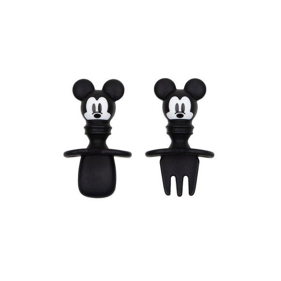 Bumkins Silicone Chewtensils, Mickey Mouse