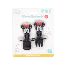 Load image into Gallery viewer, Bumkins Silicone Chewtensils, Minnie Mouse
