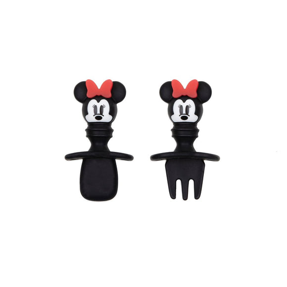 Bumkins Silicone Chewtensils, Minnie Mouse