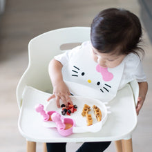 Load image into Gallery viewer, Bumkins Silicone Bib, Hello Kitty