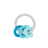 Bumkins Silicone Teething Charms, Blue