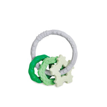 Load image into Gallery viewer, Bumkins Silicone Teething Charms, Green