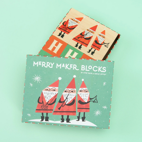 Wooden Blocks, Merry Makers