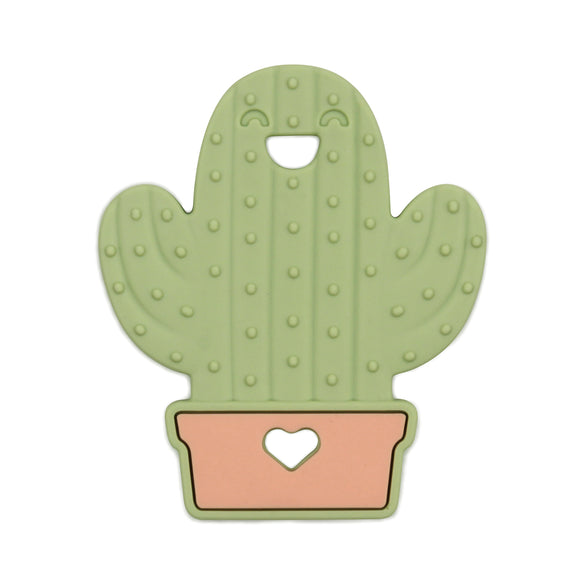Bumkins Silicone Teether, Cactus