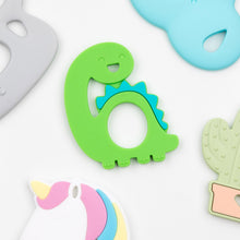 Load image into Gallery viewer, Bumkins Silicone Teether, Dino