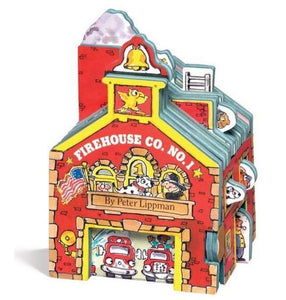 """Firehouse"" Mini House Book Series By Peter Lippman"