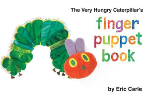 """The Very Hungry Caterpillar's Finger Puppet Book"" Board Book By Eric Carle"