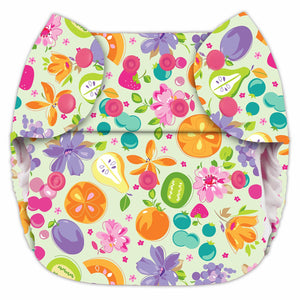 Blueberry Organic Simplex All-In-One Diaper, One Size