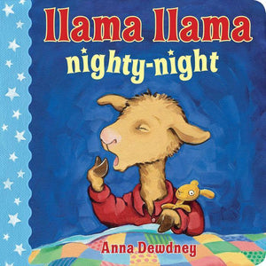 """Llama Llama Nighty-Night"" Board Book By Anna Dewdney"