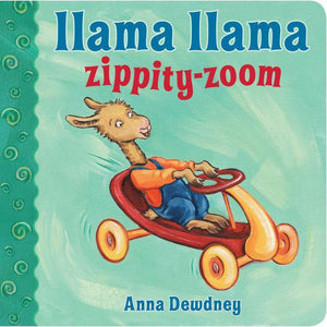 """Llama Llama Zippity-Zoom"" Board Book Anna Dewdney"