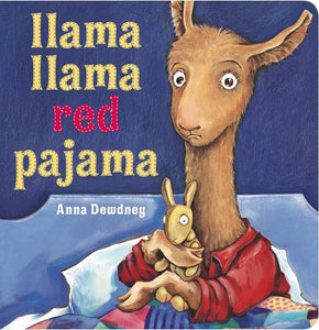 """Llama Llama Red Pajama"" Board Book By Anna Dewdney"