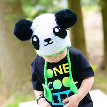 Load image into Gallery viewer, Panda Beanie Hat