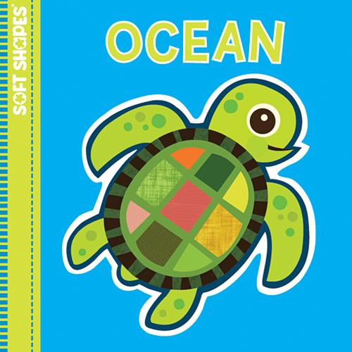 Innovative Kids Soft Shape Bath Book/Puzzle: Ocean
