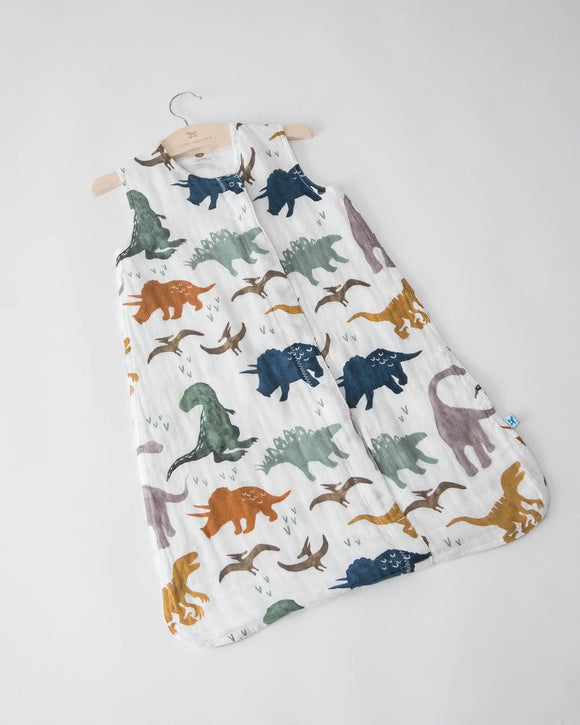 Cotton Sleeping Bag, Dino Friends