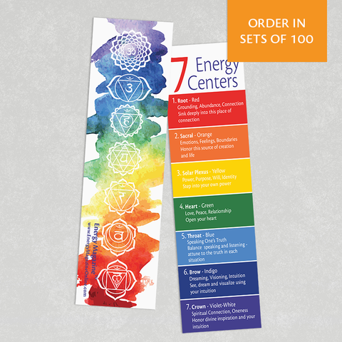 Bookmark - 7 Energy Centers (100)