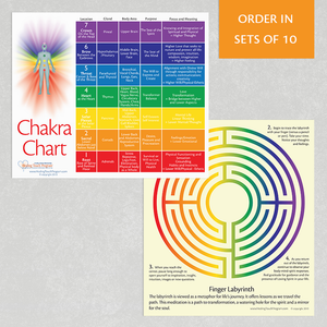 Chakra Cards (set of 10)