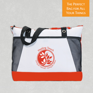 "HT Tote Bag - ""Caring for Yourself - Caring for Others"" - Red"