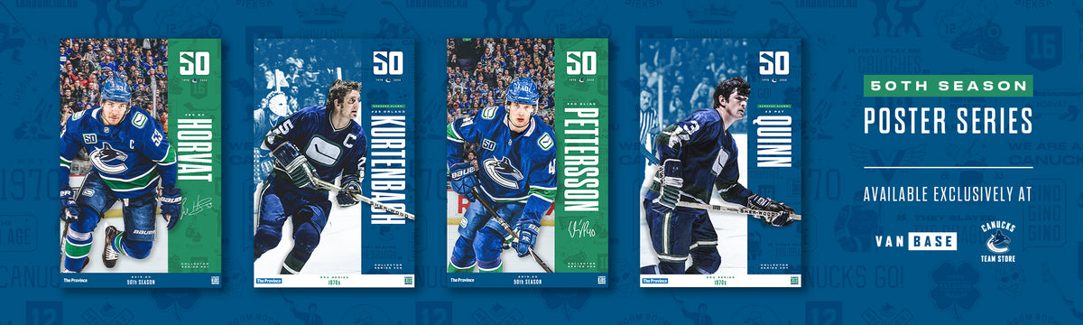 Vancouver Canucks 50th Anniversary Poster Series