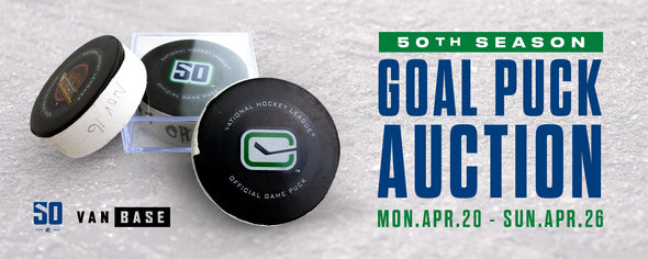 Goal Puck Auction