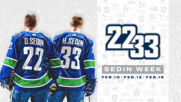 Daniel & Henrik Sedin Retirement Collection