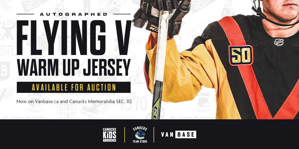 Flying V Jersey Auction
