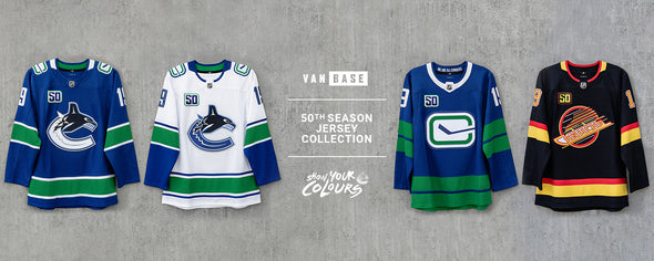Vancouver Canucks Jersey Collection