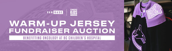 Hockey Fights Cancer Signed Warm-Up Jersey Auction