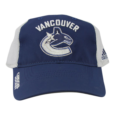 Vancouver Canucks Adidas Mesh Back Slouch Flex Hat
