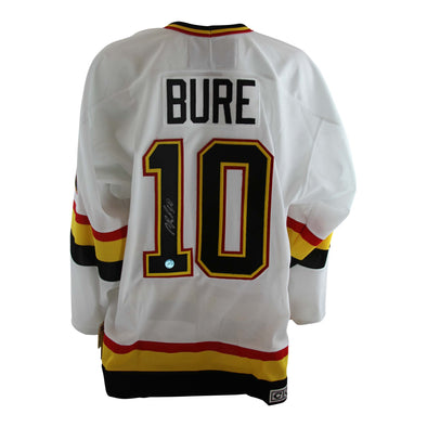 Pavel Bure Signed White CCM Skate Jersey