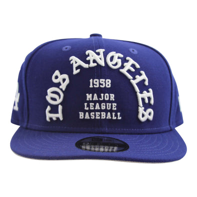 Los Angeles Dodgers New Era 9Fifty Delux Script Snapback - Vanbase