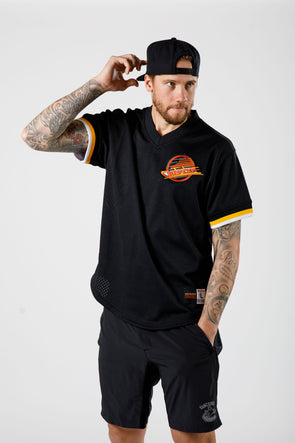 Vancouver Canucks Mitchell & Ness NHL Pro Mesh Tee - Vanbase