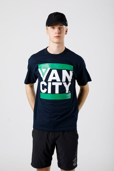 Vancouver Canucks Vancity Flying V Tee - Vanbase 3927df819