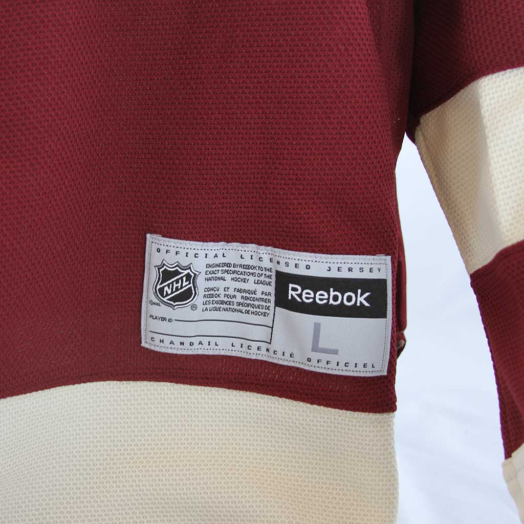 info for 035d3 02cfc Vancouver Canucks Reebok Vintage Millionaires Jersey Blank